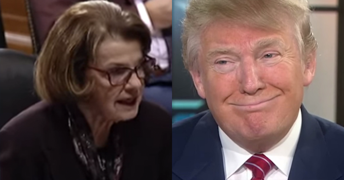 Trump Infuriates Feinstein By Bypassing Her Approval to ...