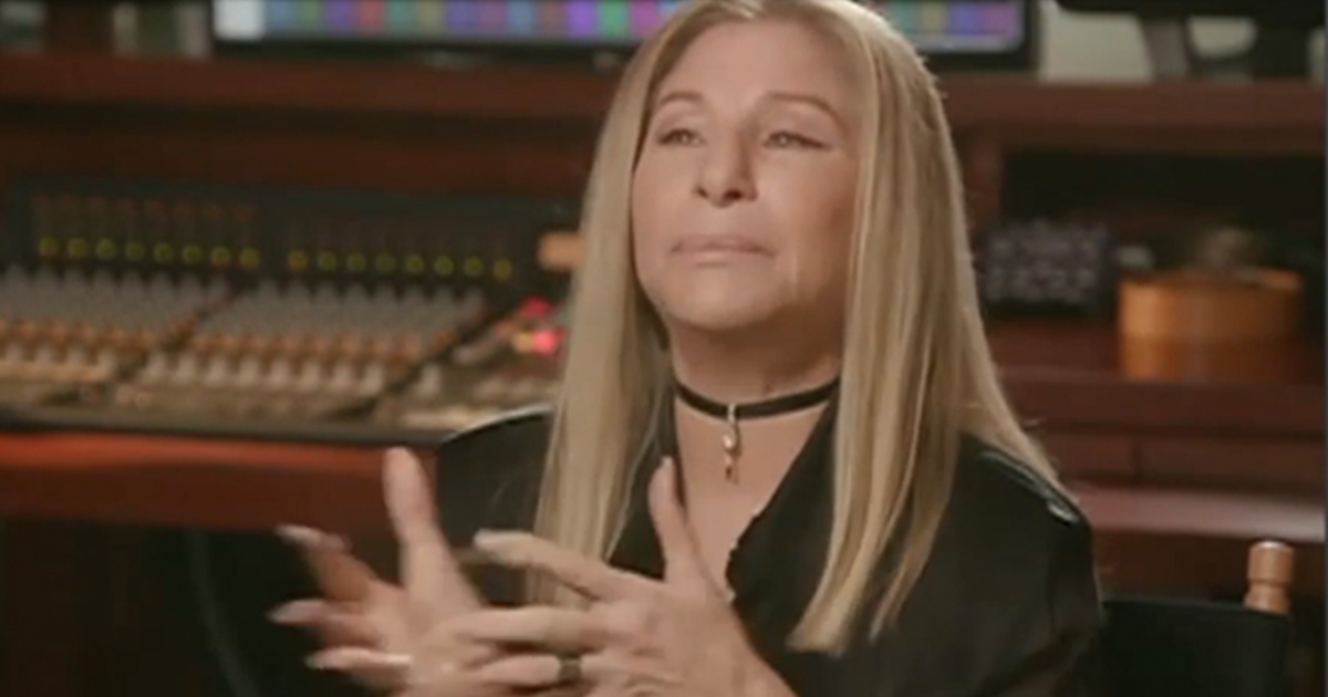 "Barbra Streisand says Biden ""will bring back dignity, honesty, intelligence and compassion"""