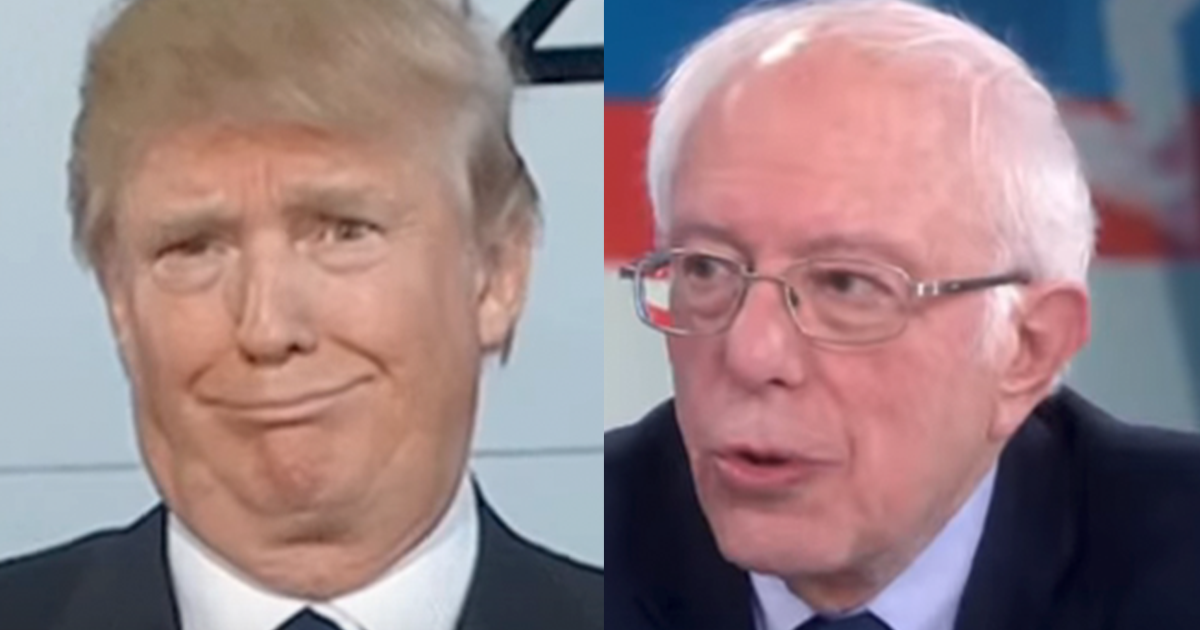 Bernie Doubles Lead Over Trump Nationally in New Morning Consult Poll