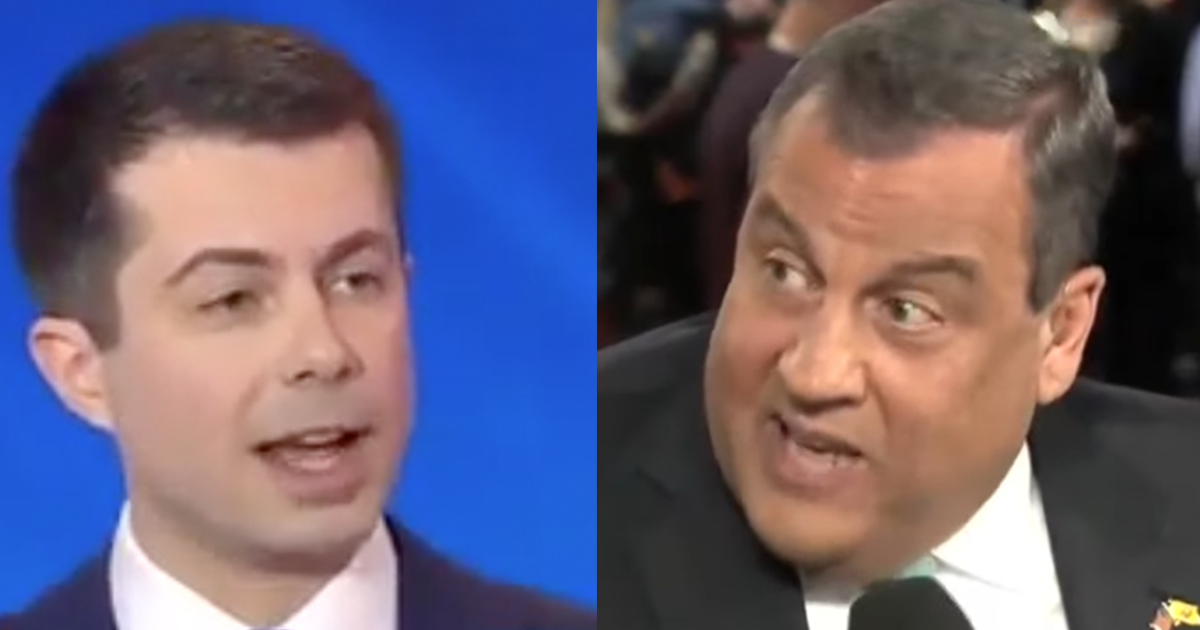 "WATCH: Chris Christie Blasts Buttigieg For ""Outright Lying About His Record"""