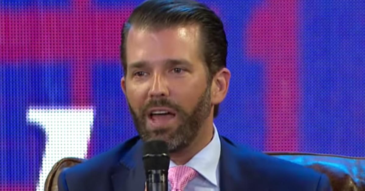 BREAKING:  Donald Trump Jr. tests positive for Covid