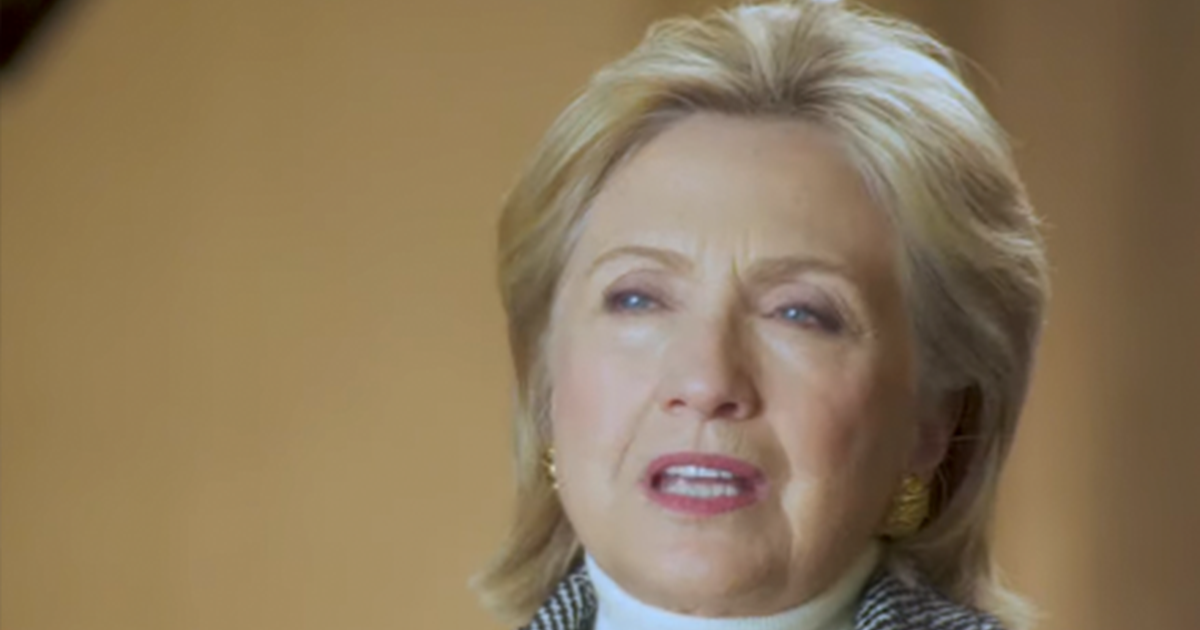 "Hillary says she ""can't entertain the idea"" of Trump winning, makes her ""sick to my stomach"""