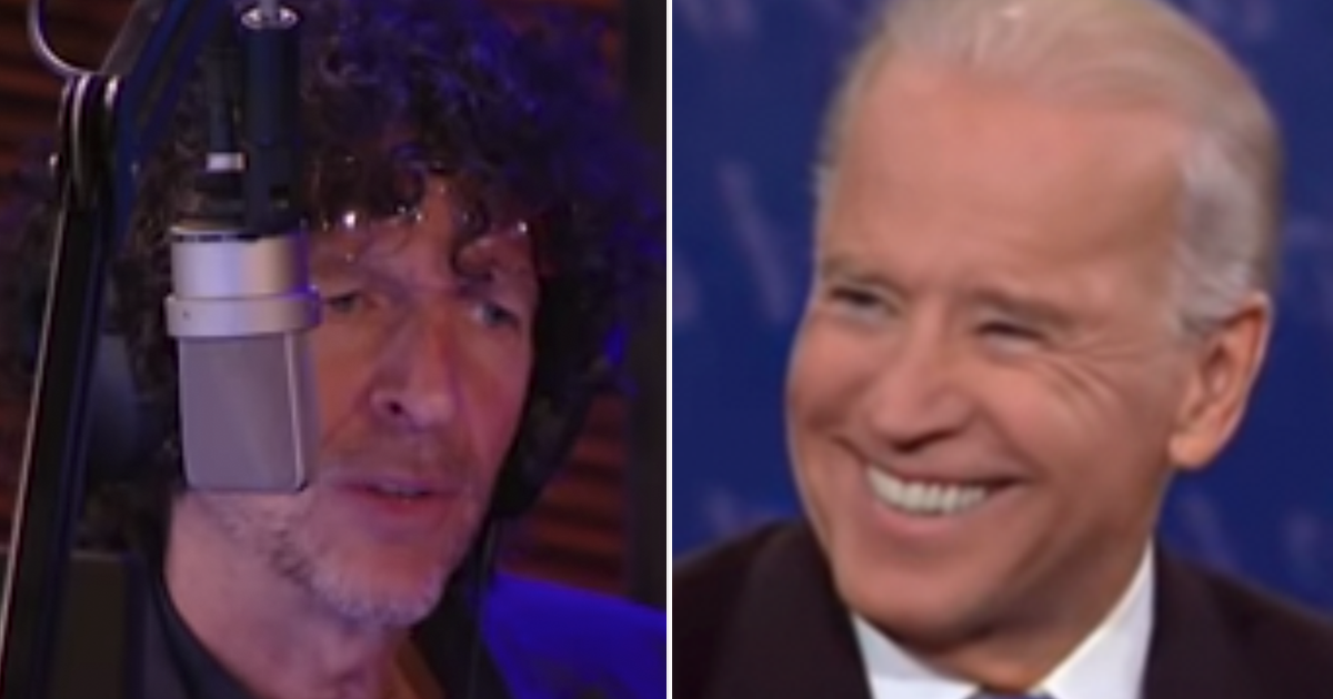 """Howard Stern Endorses Biden, suggests big Trump rally where supporters """"All Drop Dead"""""""
