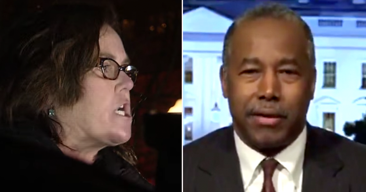 """BREAKING: Rosie Tells Ben Carson to """"F Right Off"""" in Angry Tweet"""