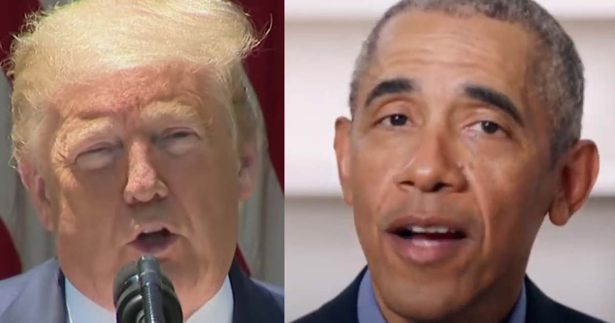 "Obama claims Trump's core supporters filter ""out any contradictory information"" are glued to ""conservative echo chamber"""