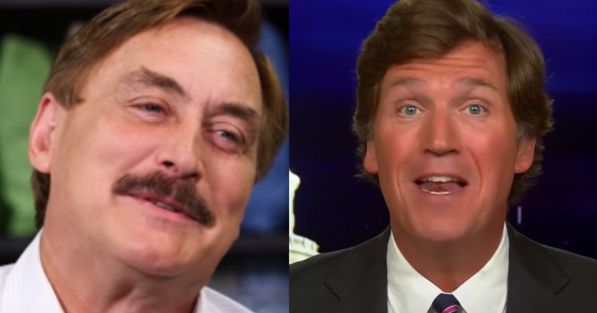 MyPillow CEO Mike Lindell Refuses to Pull Ads from Tucker Carlson Tonight