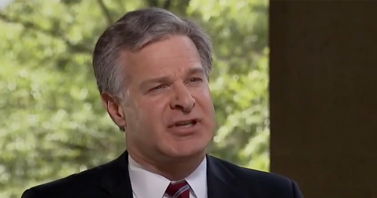FBI Director Says He's Terminated and Disciplined Those Involved with FISA Abuse