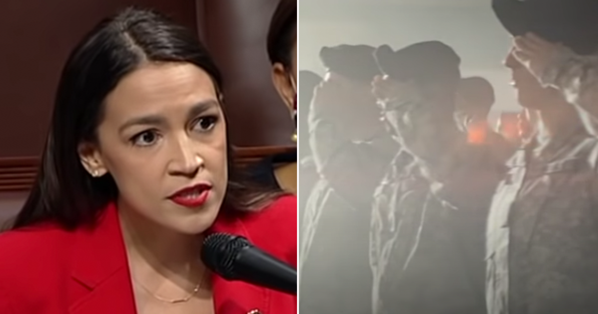 AOC calls for end to federal funding for military recruitment in schools