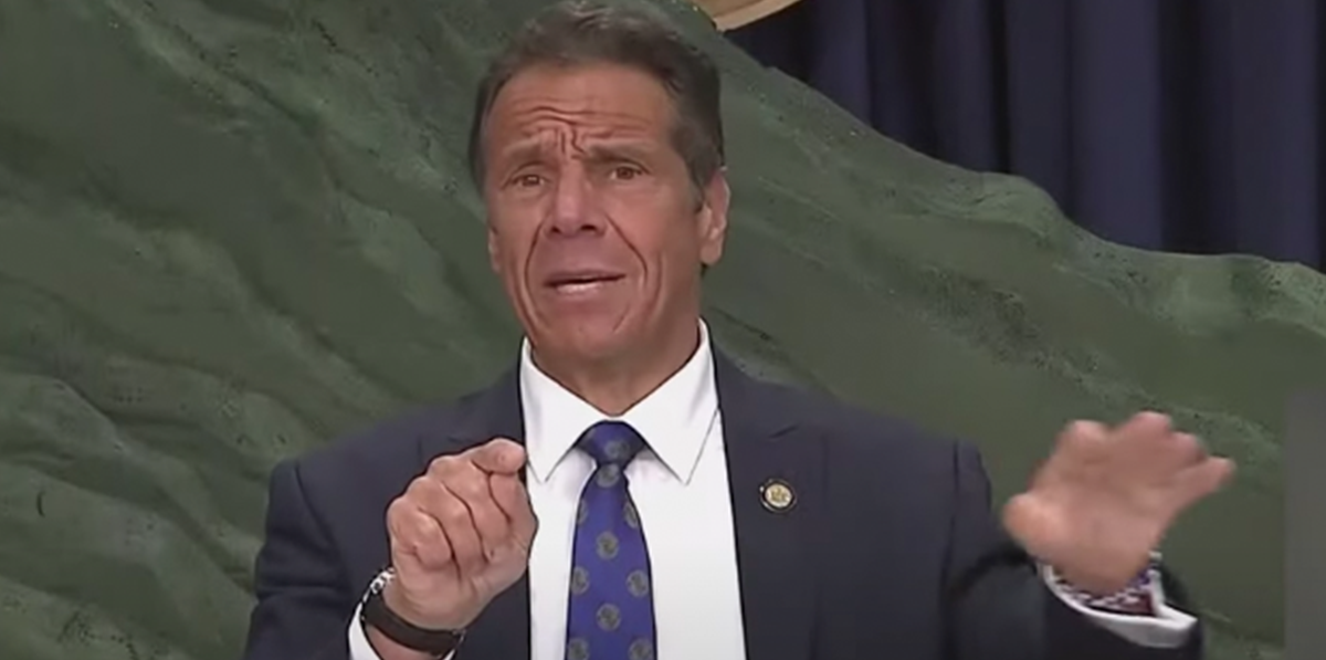 "Governor Cuomo says Trump is ""facilitating"" coronavirus, says ""Mr. President, don't be a co-conspirator of COVID"""