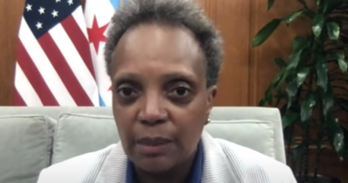 """Chicago Mayor Lightfoot """"I want to get our restaurants and bars reopened as quickly as possible"""""""