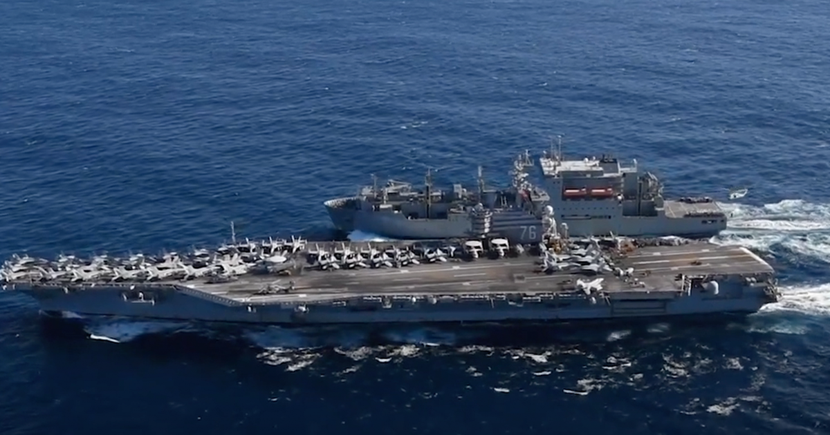 BREAKING: USS Ronald Reagan and Nimitz carriers sent to South China Sea for drills