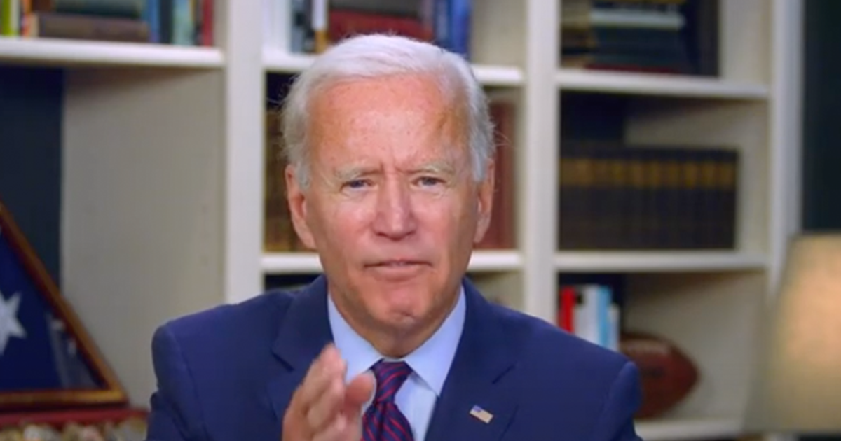 """Biden vows """"There will not be another foot of wall construction in my administration"""""""