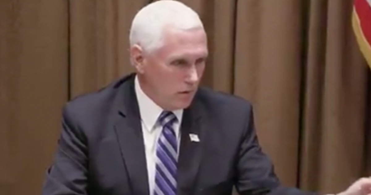 """WATCH: Mike Pence """"We are committed to ending the abuse of our worker visa program"""""""