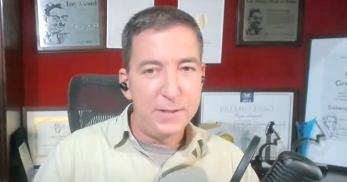 Glenn Greenwald resigns from the Intercept, says they censored his criticisms of Biden