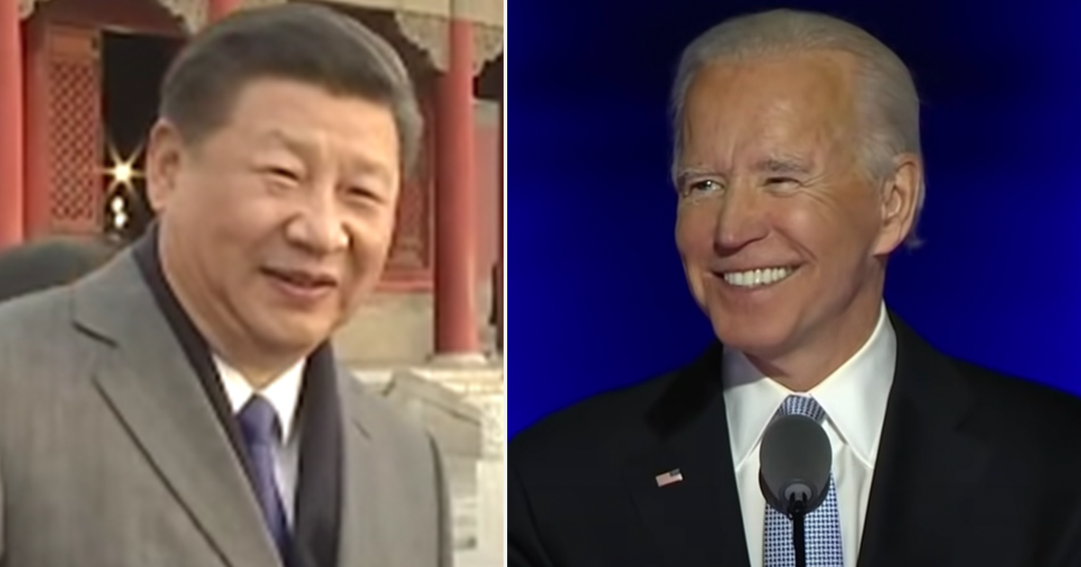 """Chinese Leader Xi Jinping congratulates Biden, says """"we hope the two sides will uphold the spirit of non-conflict and non-confrontation"""""""