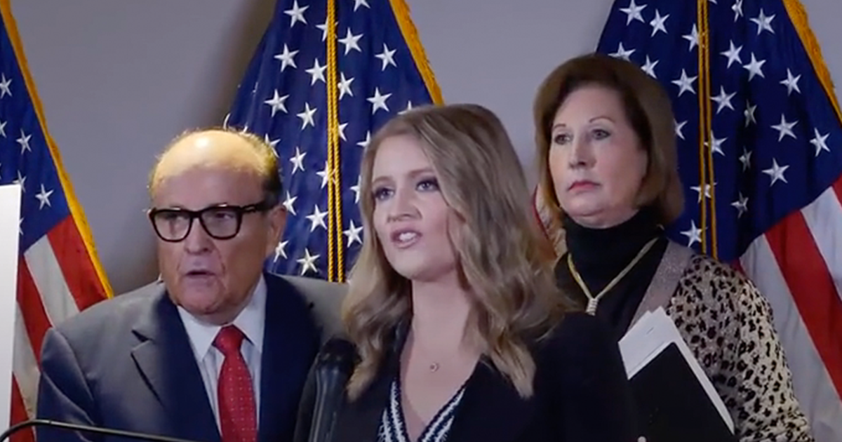 """WATCH: Trump campaign lawyer Jenna Ellis blasts Media, refers to them as """"fake news"""" and """"not actual jurors"""""""