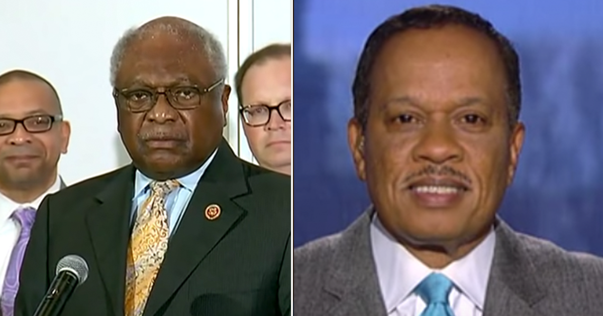 """Juan Williams says James Clyburn is his pick for """"politician of the year"""""""