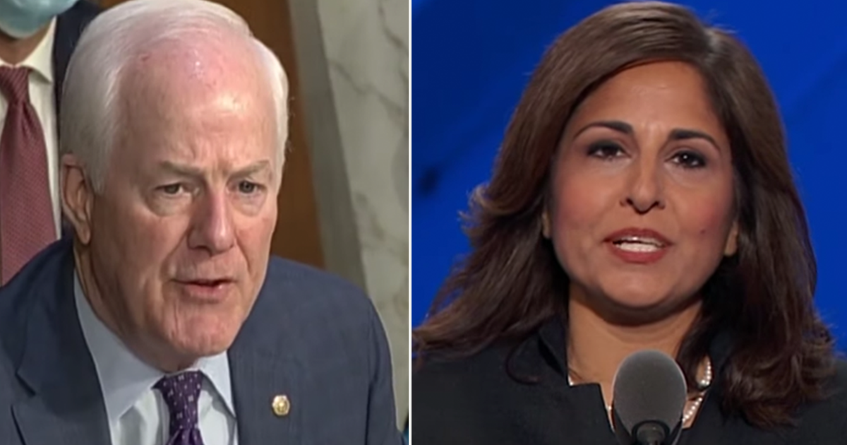 "Cornyn spox says Biden pick for OMB has ""zero chance"" of being confirmed"