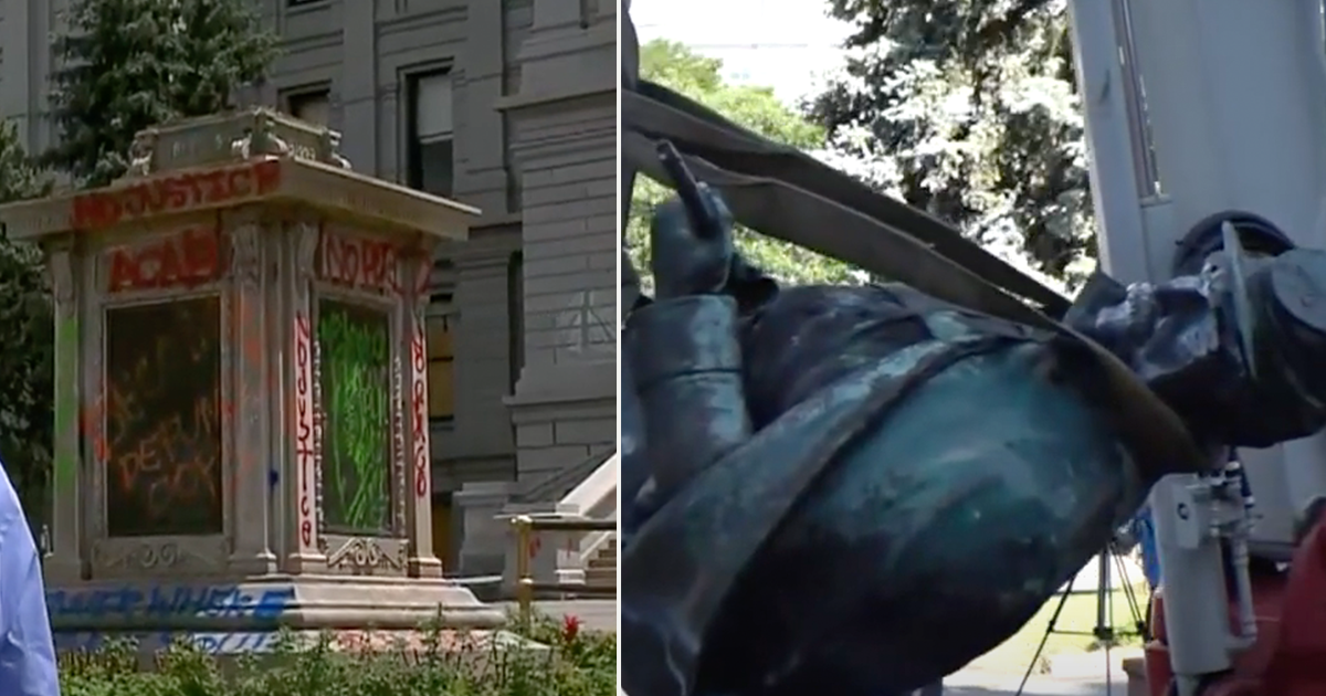Colorado civil war statue protesters toppled in June to be replaced with statue of Native American woman