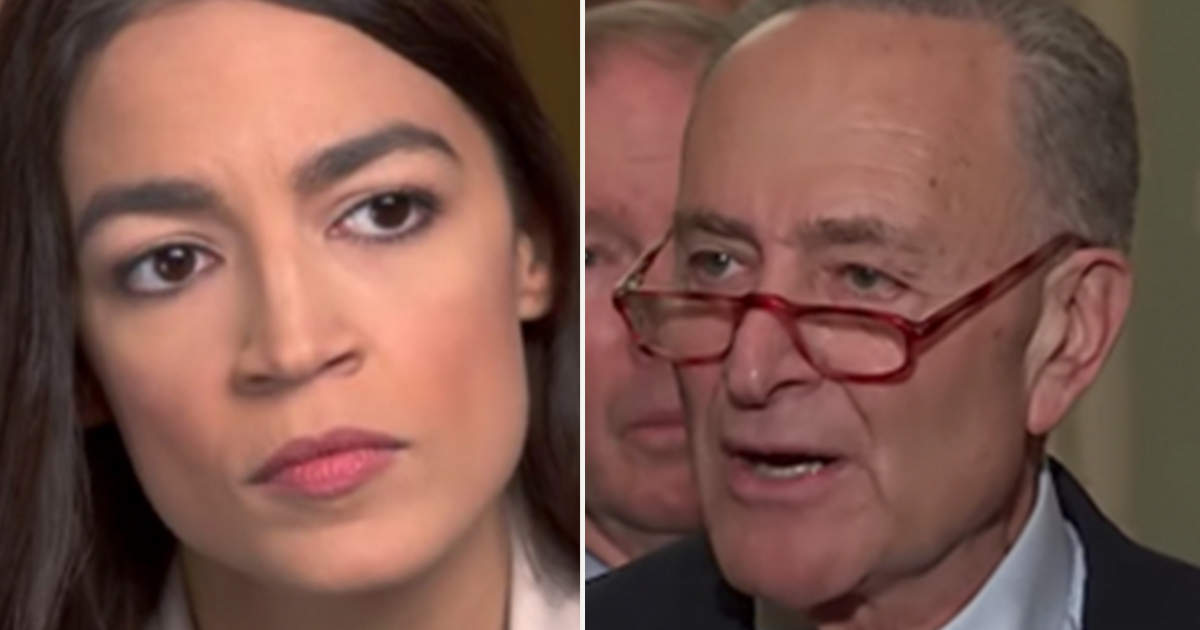 AOC warned by NY Dem party boss to not challenge Schumer's seat, says he'd beat her