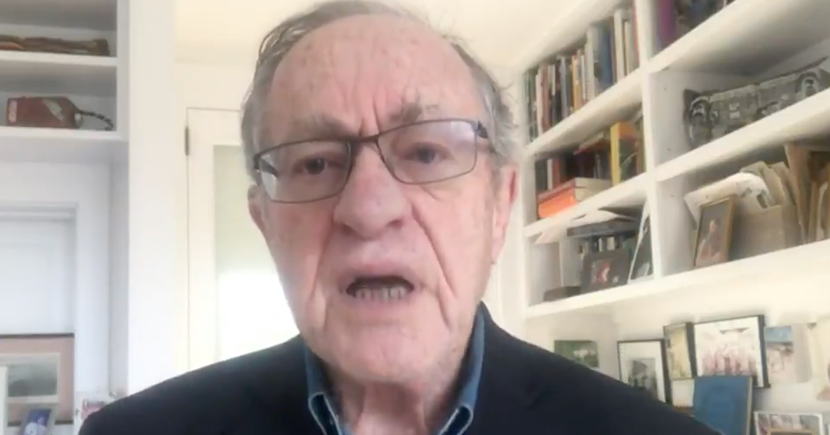 """Dershowitz defends Trump's pardons and says """"there is no realistic possibility the President will be indicted"""""""