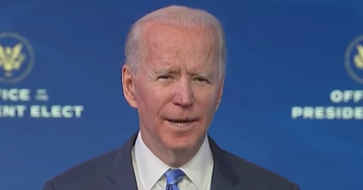 """WATCH: Biden announces """"We will finish the job of getting a total of $2000 in cash relief to people who need it the most"""""""