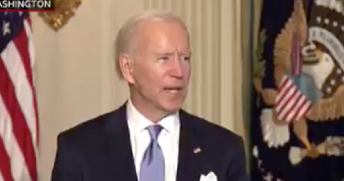 """WATCH: Biden warns staff if """"I hear you treat another colleague with disrespect…I promise you I will fire you on the spot"""""""
