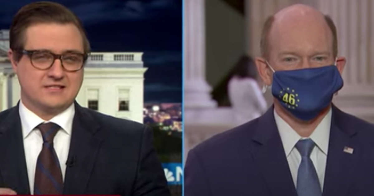 "WATCH: Coons says the Senate must clean up the ""Disaster"" Trump left behind"