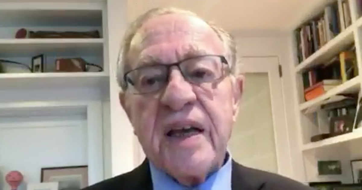 """WATCH: Dershowitz on Trump impeachment """"we all hear that the President is not above the law, but Congress is not above the law"""""""