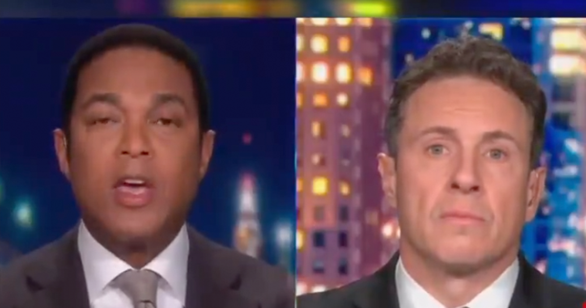 WATCH: Lemon say he's sick of people comparing what happened in DC to Anti-Police Protests