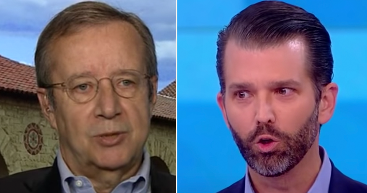 "Former President of Estonia insults Don Jr, says he has the brain of a ""small-brained fish"""