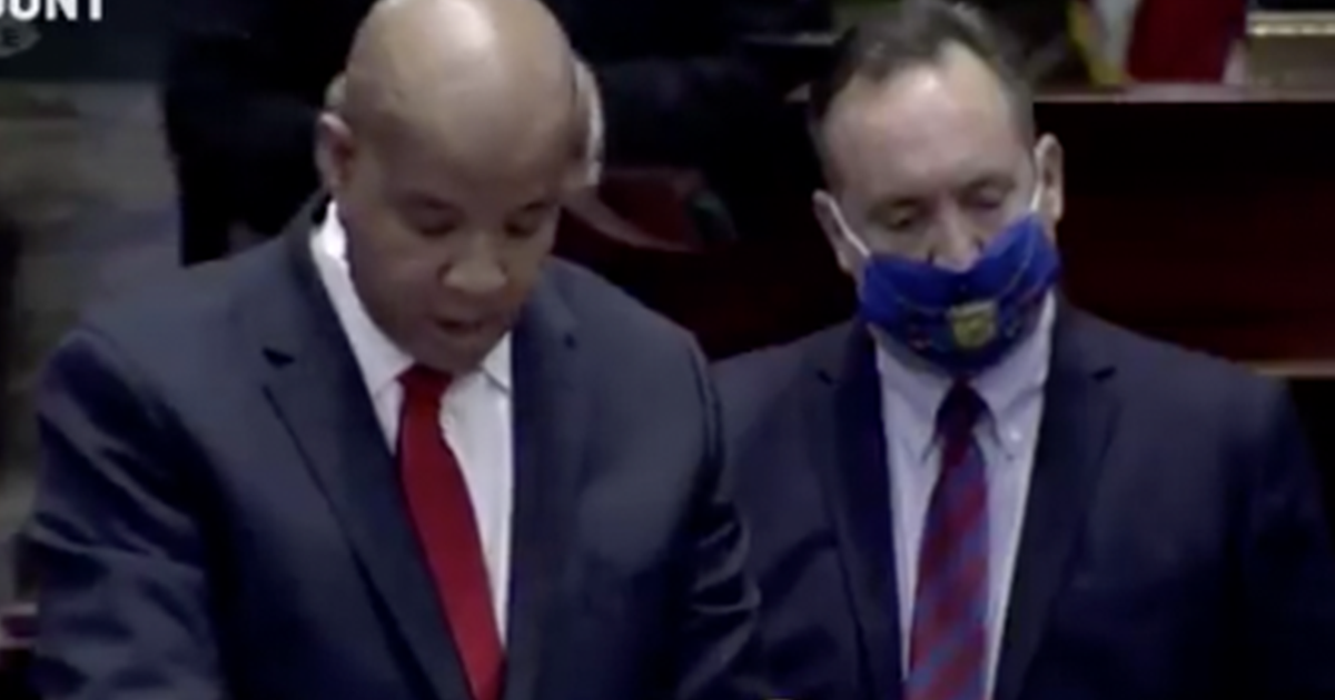 WATCH: Chaos erupts as PA State Senate refuses to swear in Dem State Senator