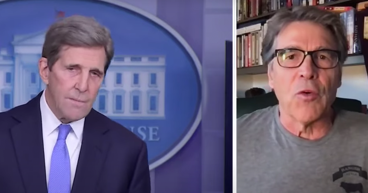"WATCH: Rick Perry blasts Kerry, says Biden admin is ""gutting"" middle class Americans"